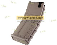 GHK 30rd Gas Magazine for G5 GBB Rifle (Tan)